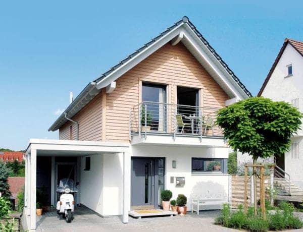 Entwurf Weimer von Schwörerhaus Außenansicht