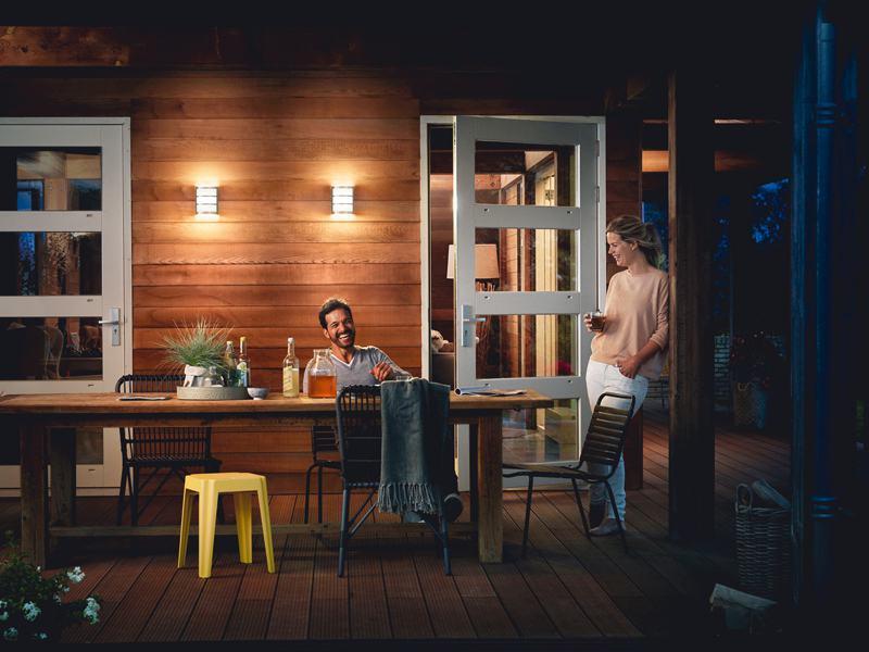 licht im garten. Black Bedroom Furniture Sets. Home Design Ideas