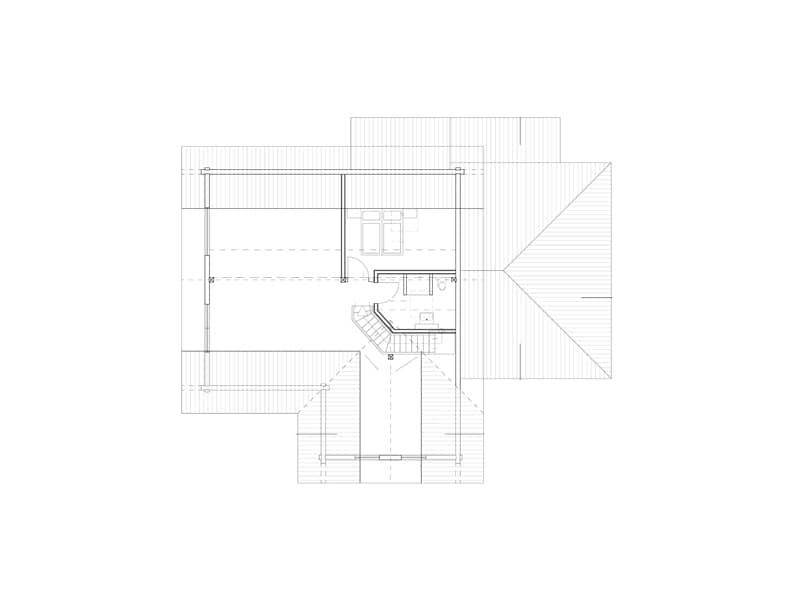 Grundriss Obergeschoss Entwurf Elzruhe von Fullwood