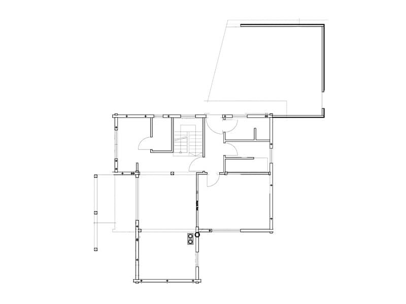 Grundriss Untergeschoss Haus Fränkische Kiefer von Fullwood