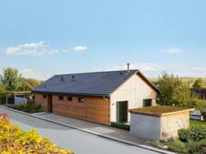 Entwurf Homestory 381 von Lehner Haus Außenansicht Norden