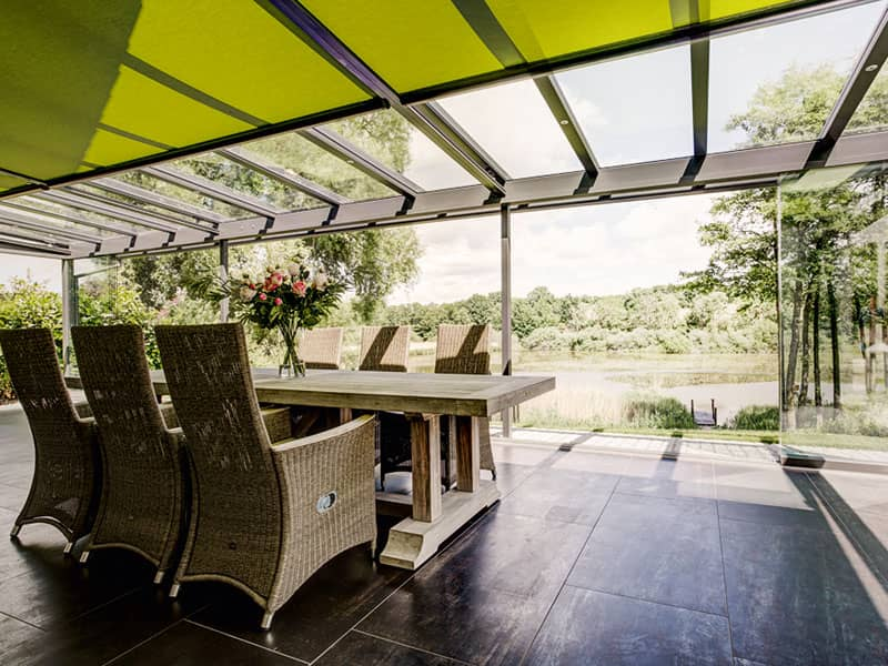 Glashaus von Solarlux