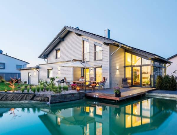 Fassadengestaltung einfamilienhaus beispiele grün  top 100 | zuhause3.de