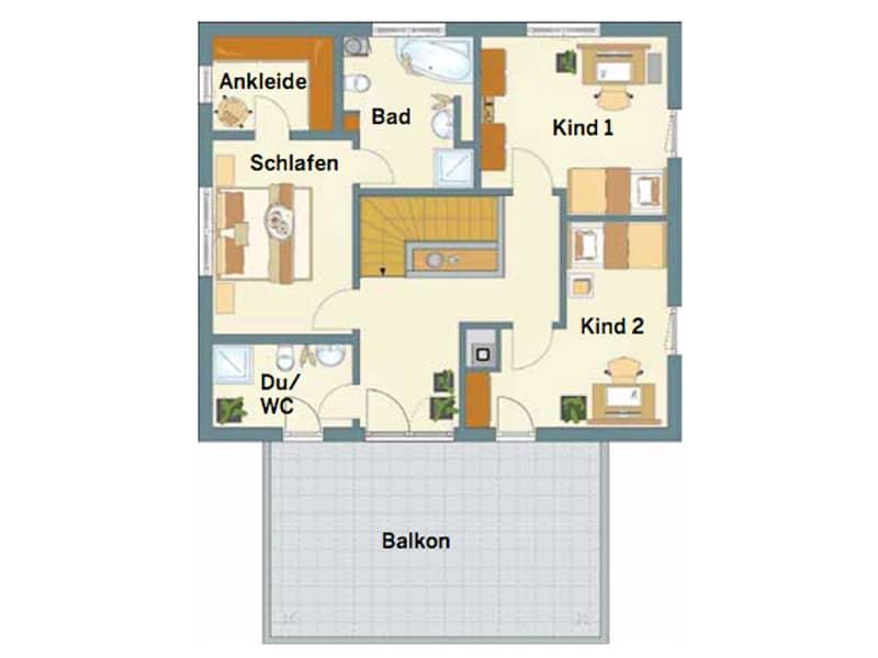 Grundriss Obergeschoss Entwurf Architektur Trend von Fingerhaus