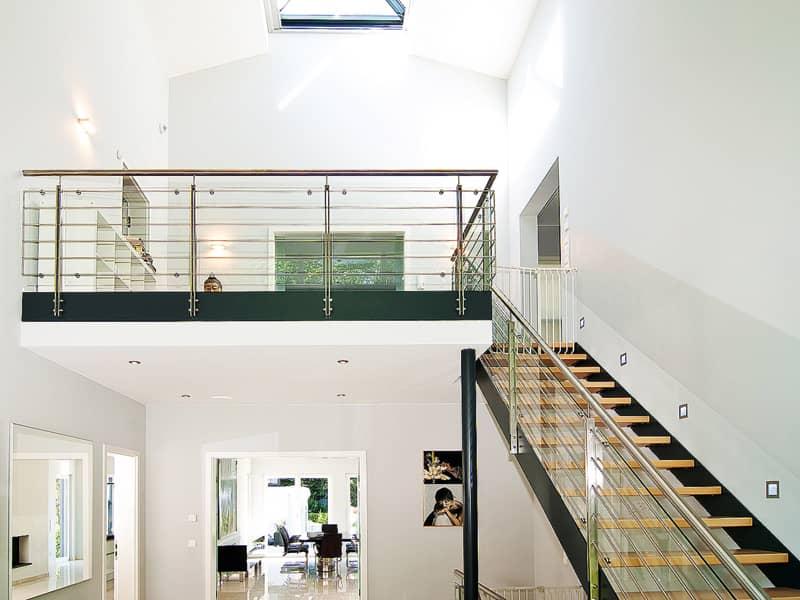 Kundenhaus Gutsch von WeberHaus Eingangshalle