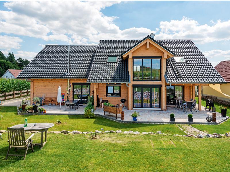 Haus Oberpfalz von Fullwood Doppelhausansicht