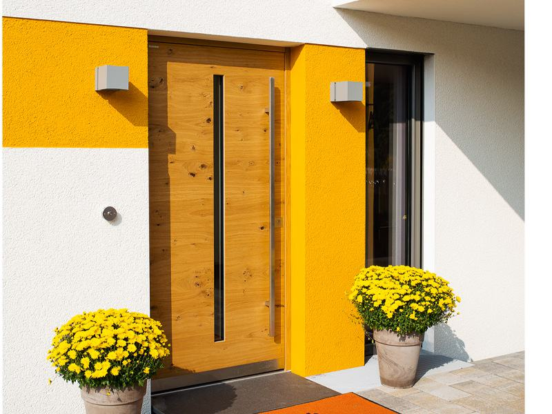 Entwurf Jedermann von Büdenbender Hausbau Eingang