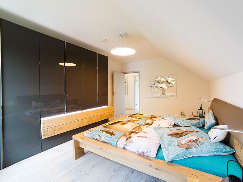 Entwurf Jedermann von Büdenbender Hausbau Schlafzimmer