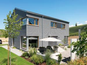 Musterhaus Auggen von Schwörer Haus Terrasse