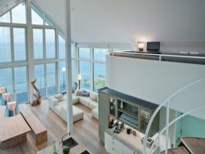 Ferienhaus am Meer von Baufritz Innenansicht