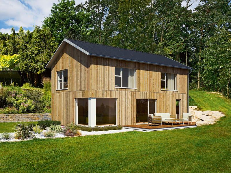 Ideenhaus von Baufritz Fassade