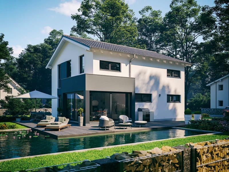 Architektenhaus Allea von Kern-Haus Terrasse