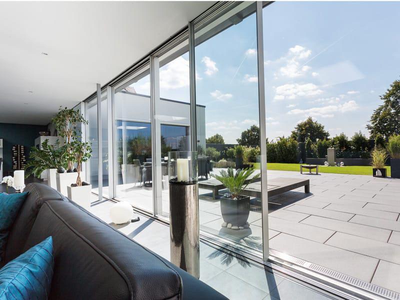 Entwurf Rüsselsheim von Büdenbender Fensterfront