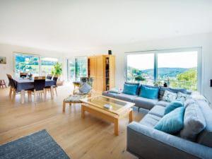 Entwurf Novum von Fingerhut Haus Wohnbereich