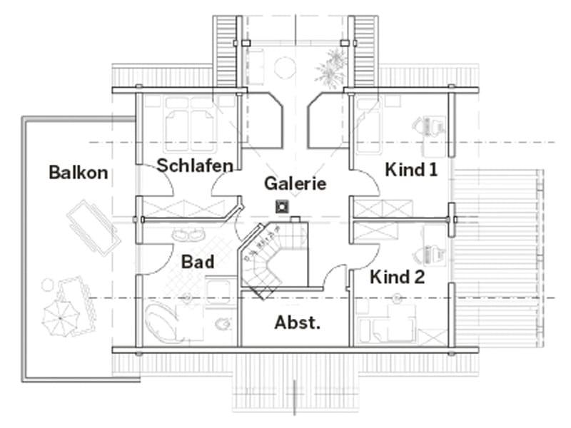 Grundriss Dachgeschoss Entwurf Am Mühlenteich von Fullwood Wohnblockhaus