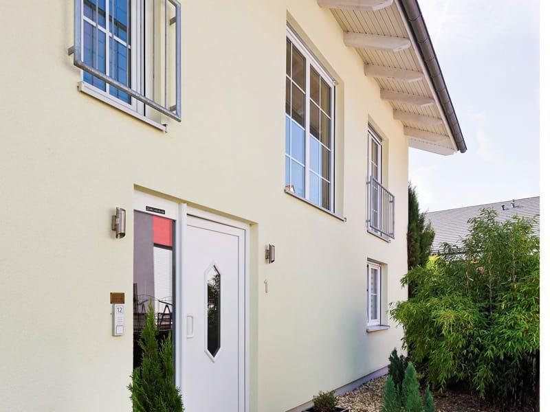 Entwurf Familienhaus von Heinz von Heiden Fassade