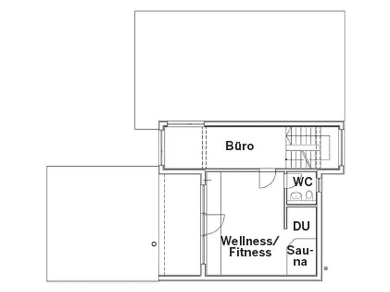 Grundriss Dachgeschoss Entwurf Rodler von Sonnleitner