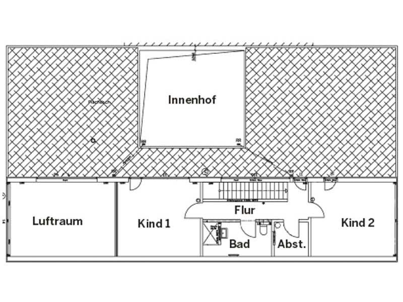 Grundriss Dachgeschoss Haus Wildfarn von Stommel Haus