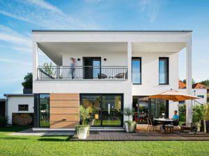 individueller Entwurf Blum von WeberHaus Terrasse