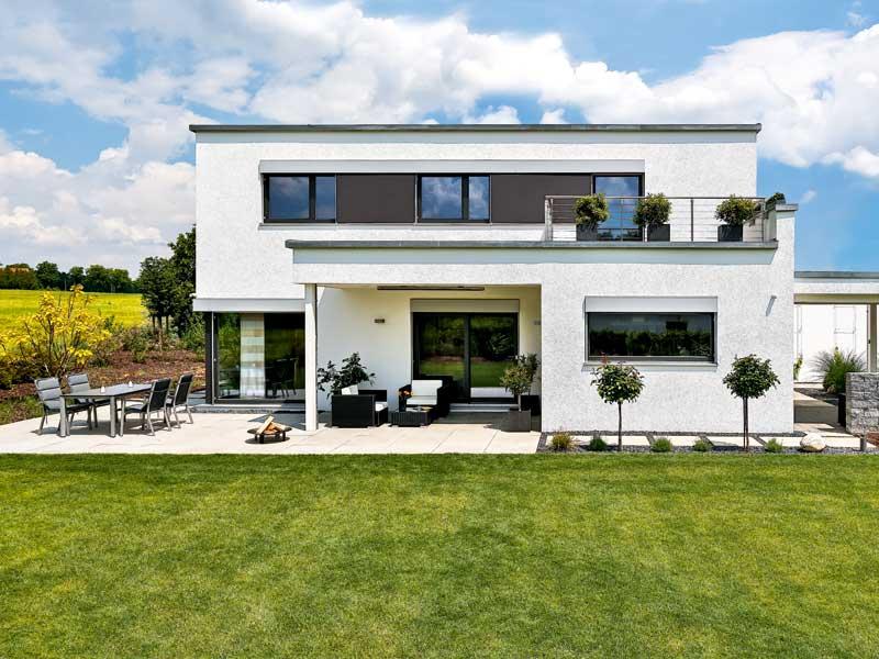 Entwurf Schwabach von Regnauer Hausbau Vorderansicht