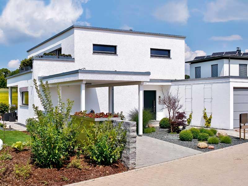 Entwurf Schwabach von Regnauer Hausbau Straßenseite