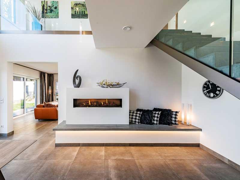 Musterhaus San Diego von RENSCH-HAUS Wohnbereich