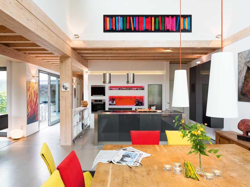 Haus Wildfarn von Stommel Haus Küchenbereich