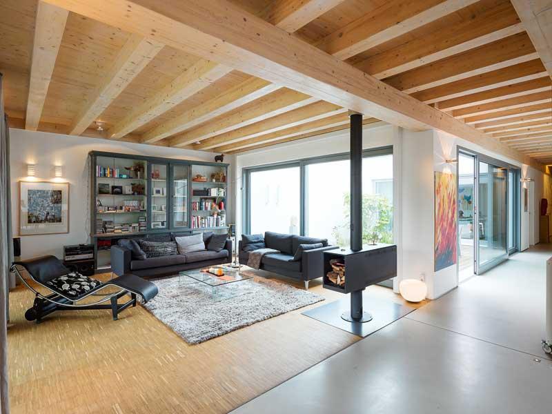 Haus Wildfarn von Stommel Haus Wohnbereich