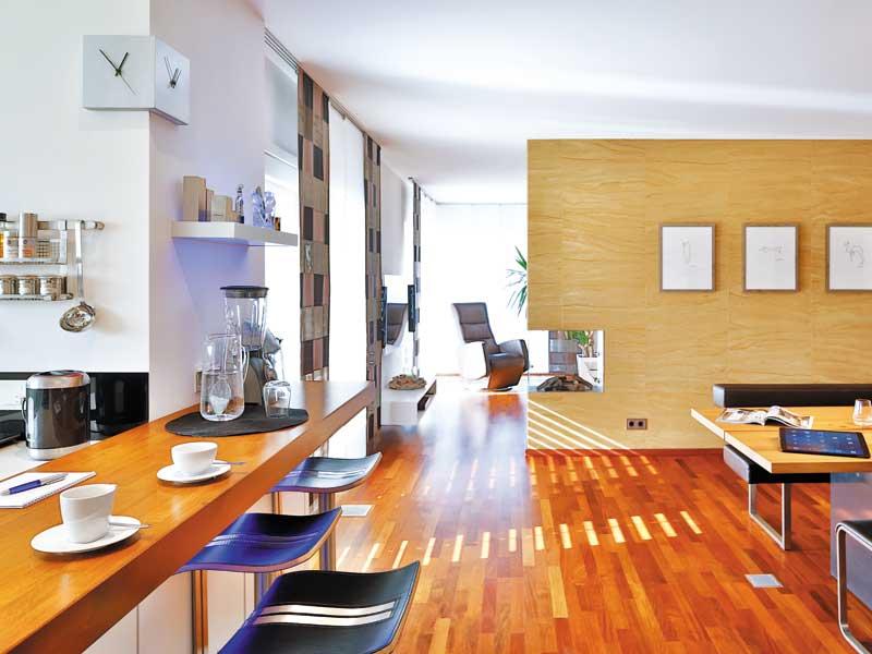 Entwurf Schwabach von Regnauer Hausbau Wohnbereich