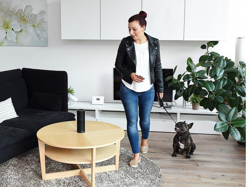 smart home vernetztes zuhause im trend. Black Bedroom Furniture Sets. Home Design Ideas