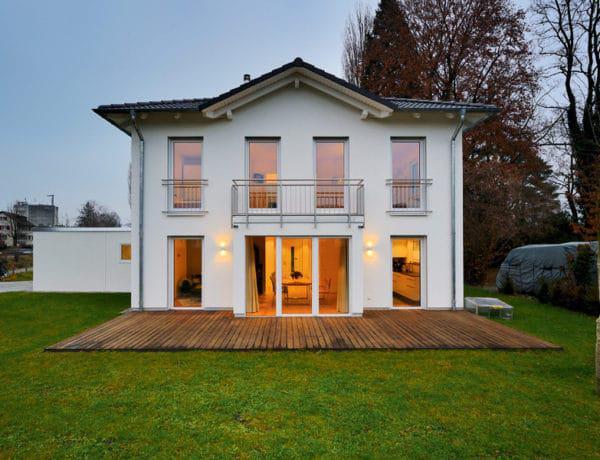 Stadtvilla SV 150 von Heinz von Heiden Außenansicht