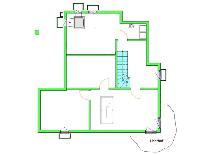 Untergeschoss Individuelles Architektenhaus von Kitzlingerhaus