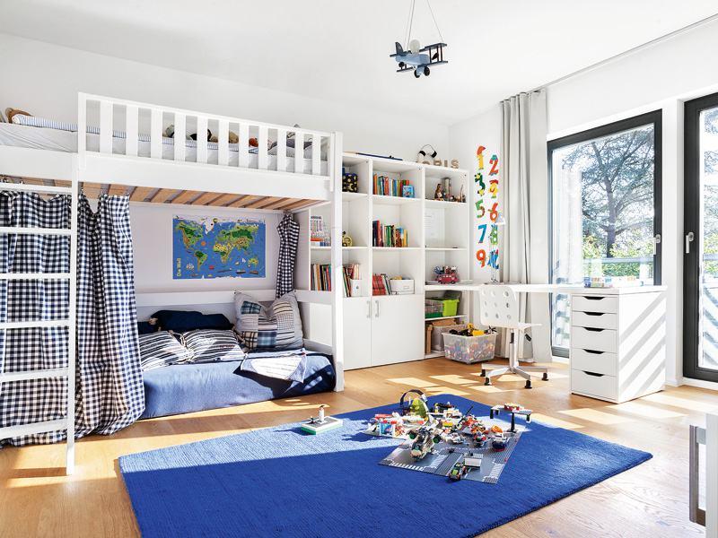 Kundenhaus Hesse von SchwörerHaus Kinderzimmer