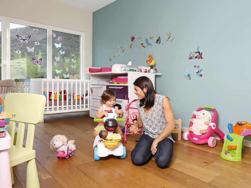 individuelles Kundenhaus Cartier von WeberHaus Kinderzimmer