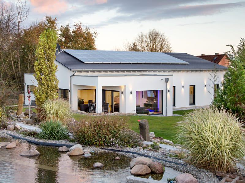 Fischerhaus Bungalow 200 Aussen Garten