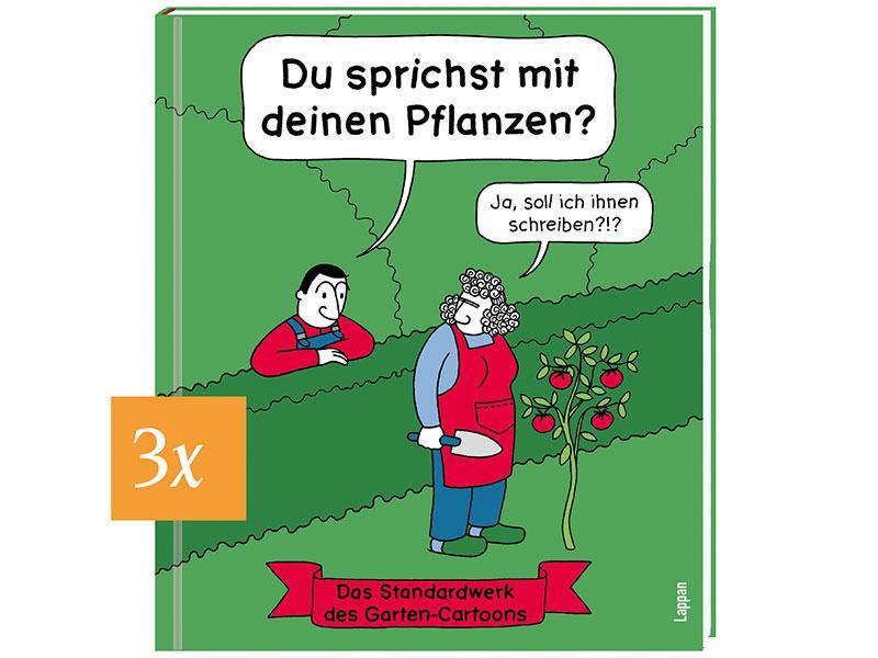 Garten Cartoon Gewinnspiel