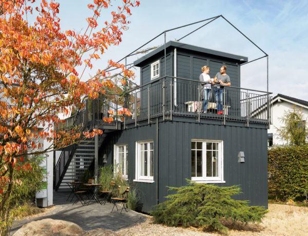 Entwurf Green Living Space von Schwörerhaus Außenansicht