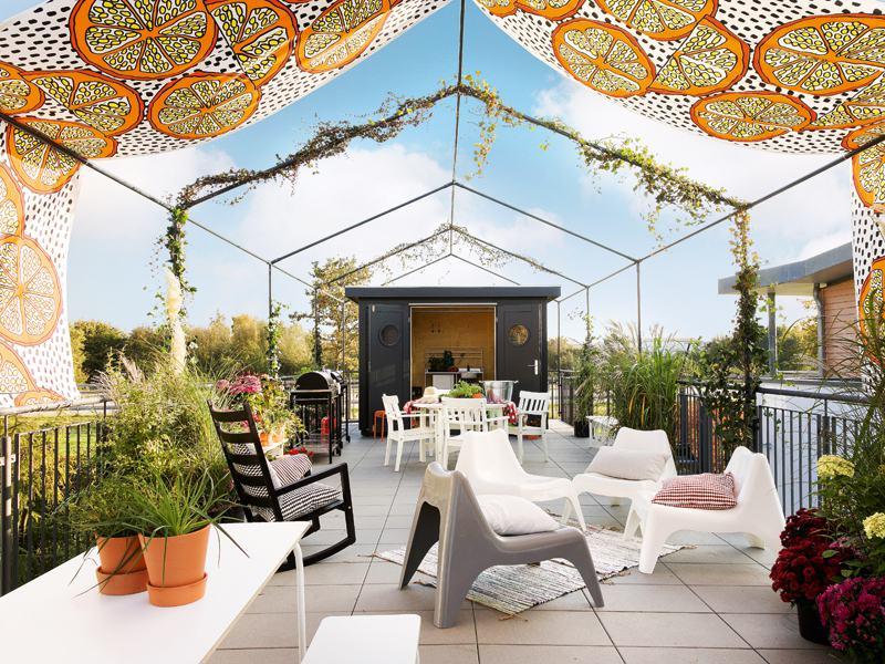Entwurf Green Living Space von Schwörerhaus Dachterrasse