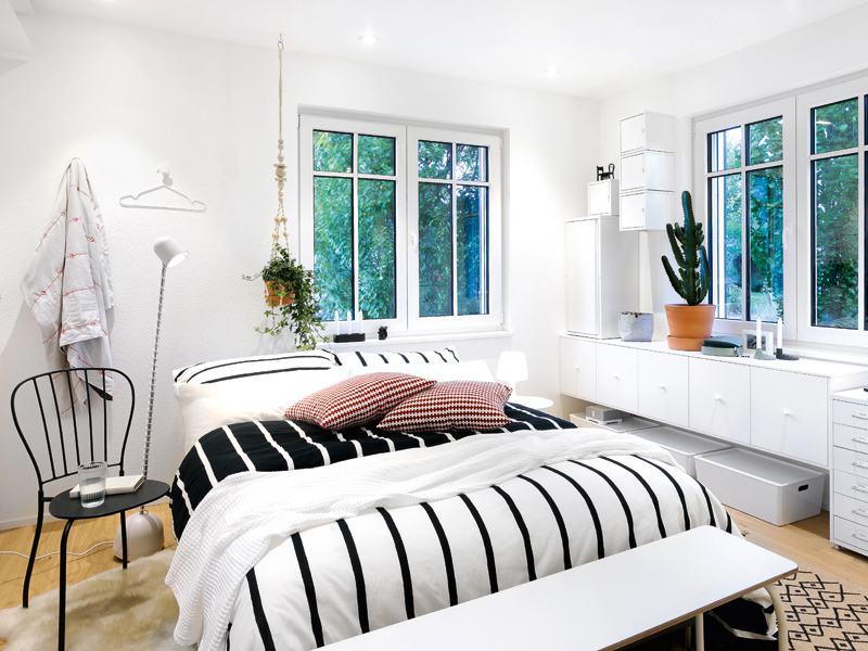 Entwurf Green Living Space von Schwörerhaus Schlafbereich
