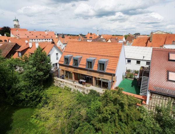 Entwurf Witt von Baufritz Gartenseite