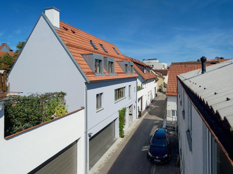 Entwurf Witt von Baufritz Straßenseite