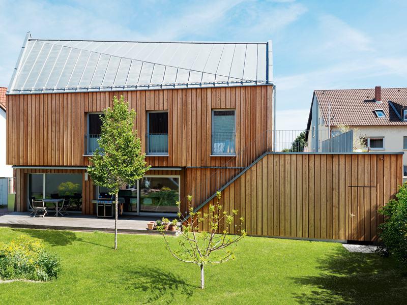 Entwurf individuelle Planung von Keitel Haus Gartenseite