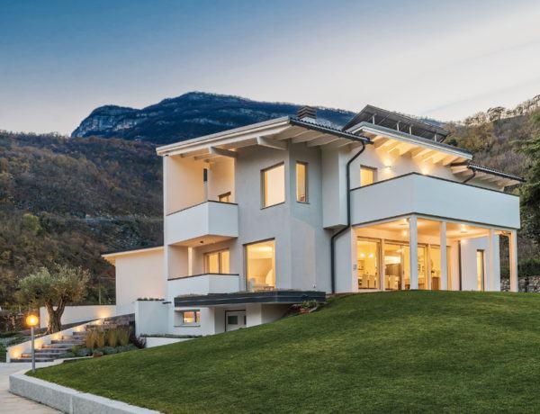 Entwurf Cipriani von Rubner Haus Außenansicht