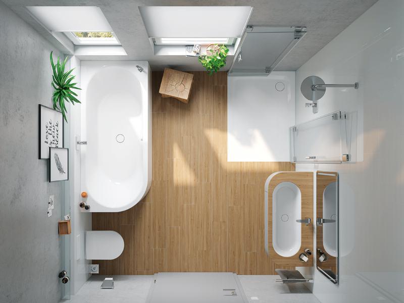 Kleines Bad ganz groß | zuhause3.de