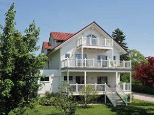 Balkone Dachterrassen Baufritz