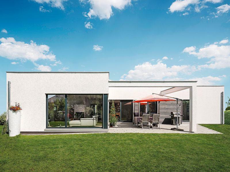 Aussenansicht Bungalow Ruecker Weberhaus