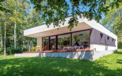 Außenansicht Bungalow Herold_Zimmermeisterhaus