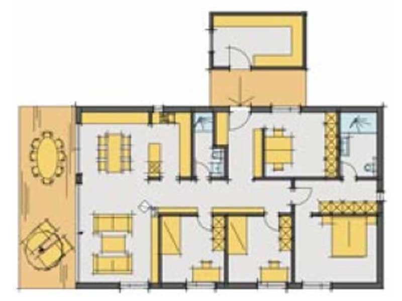Grundriss Haus Herold von Zimmermeisterhaus