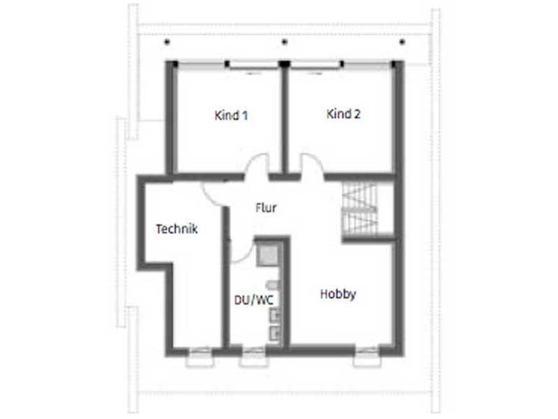 Grundriss Untergeschoss Huf Art 4 Frankfurt von Huf Haus