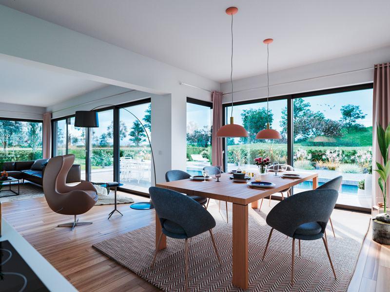 Entwurf Elea von Kern-Haus Wohnbereich